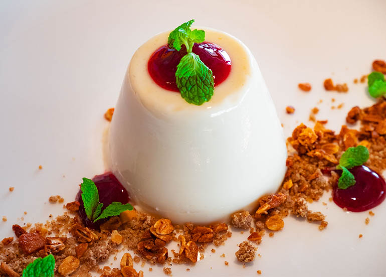 Panna Cotta from Milagritos