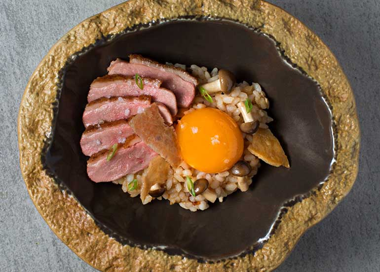 Rice Dish with Roasted Duck from Gallery by Chele