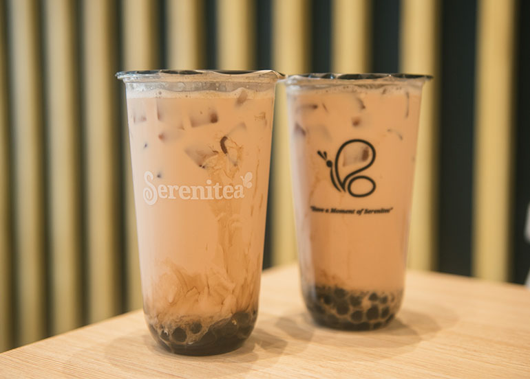 Royal Milk Tea from Serenitea