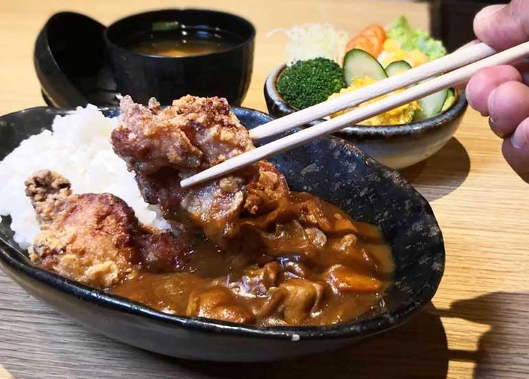 Karaage Curry from Katsu Sora
