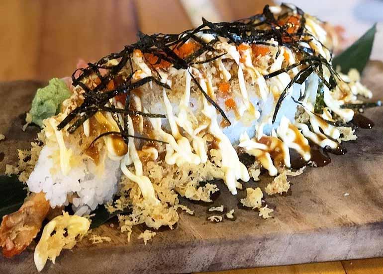 Dragon Maki from Aozora Japanese Restaurant