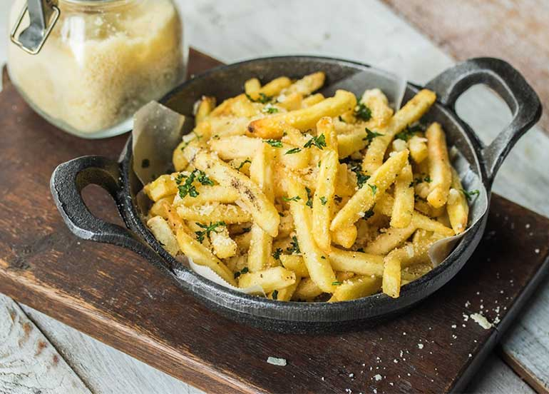 Truffle Fries from Amare La Cucina
