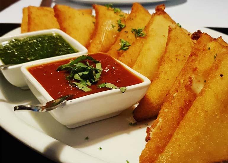 Fried Mozzarella from La Famiglia Little Italy