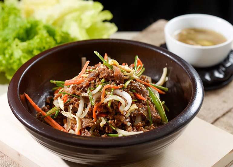 Japchae from Sodam Restaurant