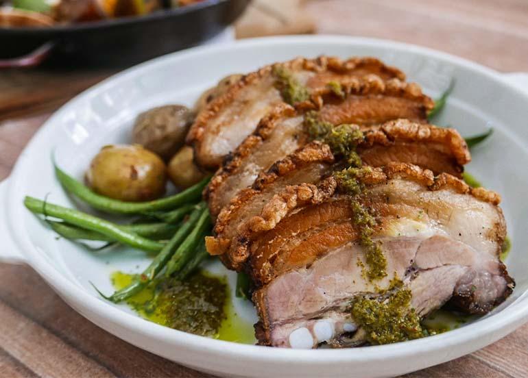 Churasco Pork Belly from Cafe Sanso