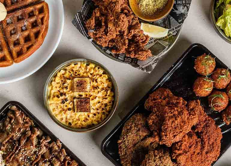 Umami Fried Chicken and Sides from Bad Bird