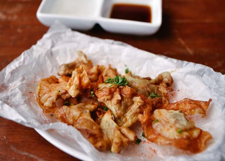 chicharon bulaklak, pulutan, filipino food