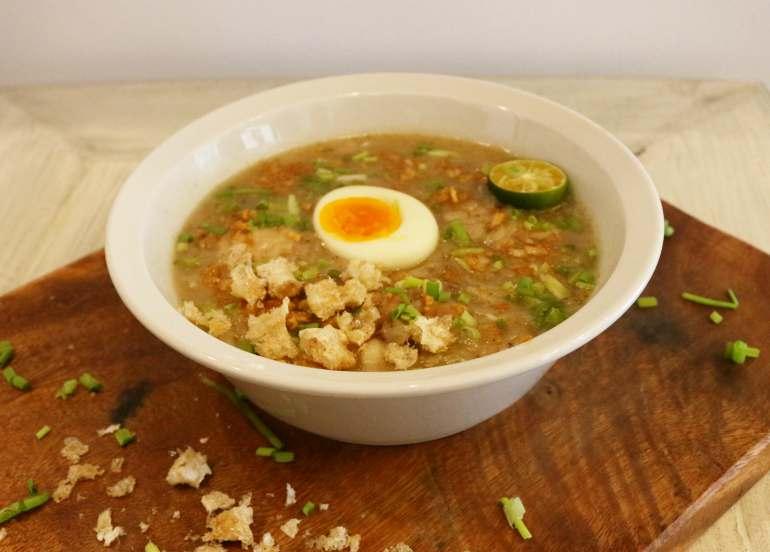 arroz caldo, arroz caldo recipe, filipino food