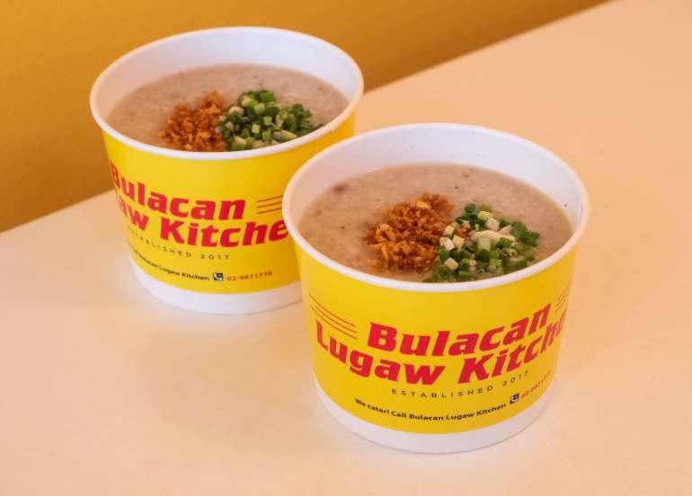 bulacan lugaw kitchen, lugaw recipe, filipino food