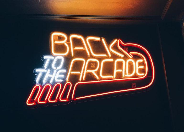 Versus Barcade Neon Sign