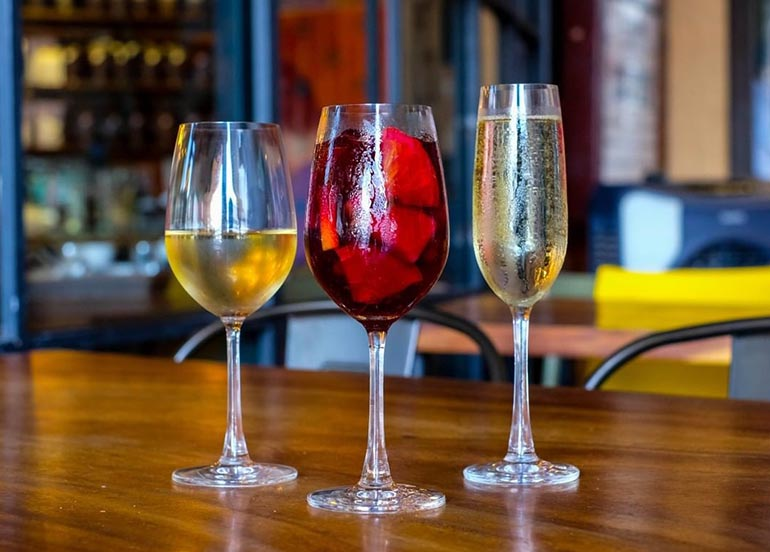 White Wine, Red Wine, and Champagne from Refinery