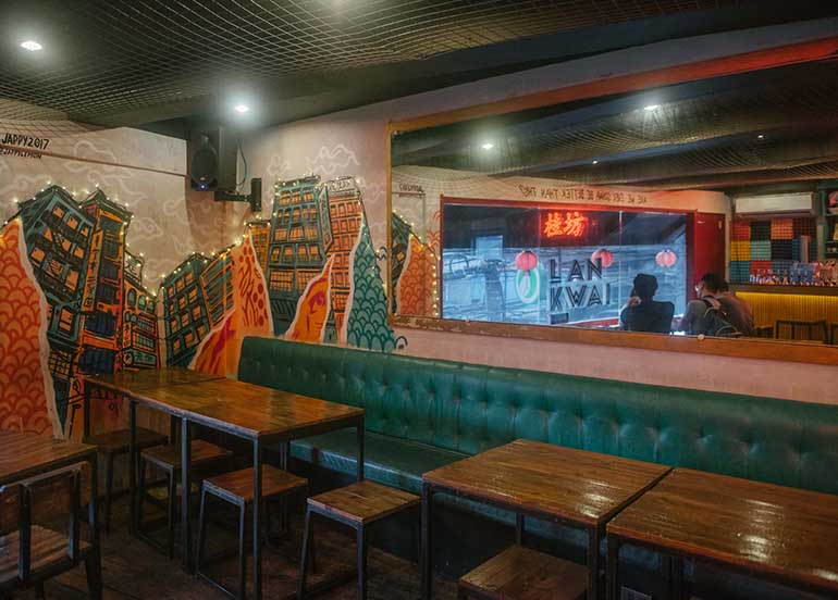 Lan Kwai Speakeasy Interiors