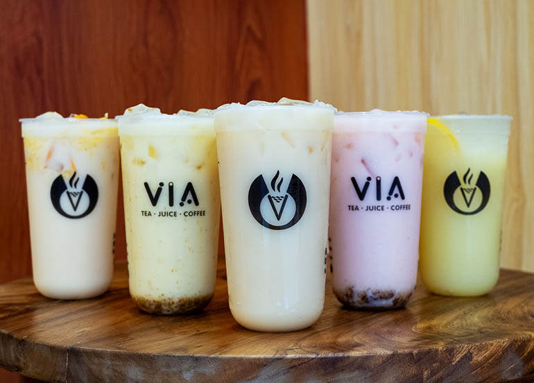Yakult Series from Via Cafe