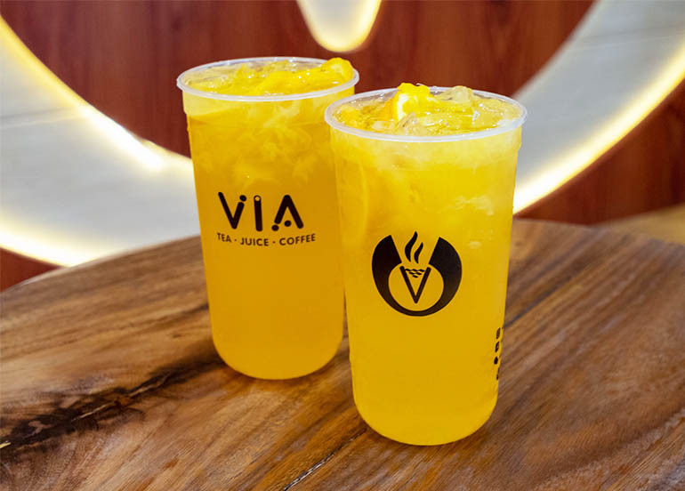 Vitamin C Overload from Via Cafe