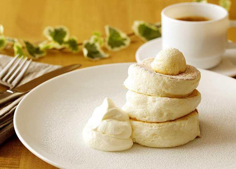 gram cafe souffle pancakes