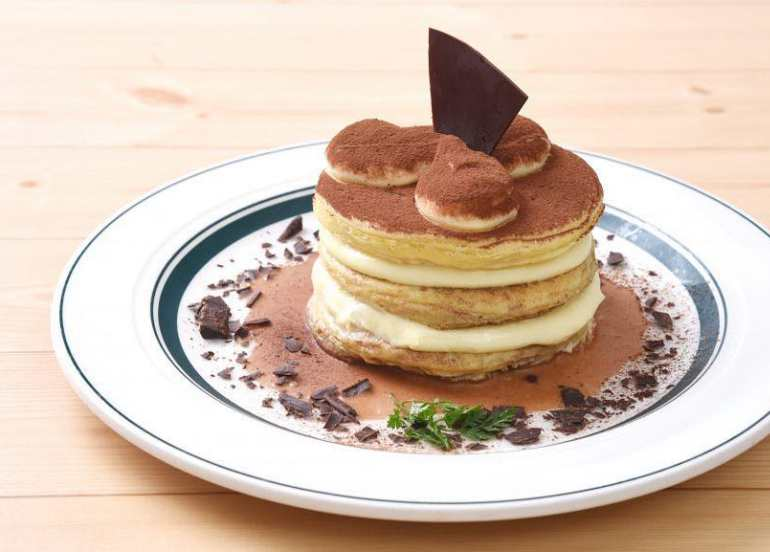 gram cafe tiramisu souffle pancakes