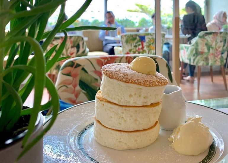 gram cafe souffle pancakes indonesia