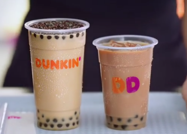 Dunkin' Donuts' Iced Coffee With Tapioca Pearls is the Perfect Pick-Me-Up Treat!