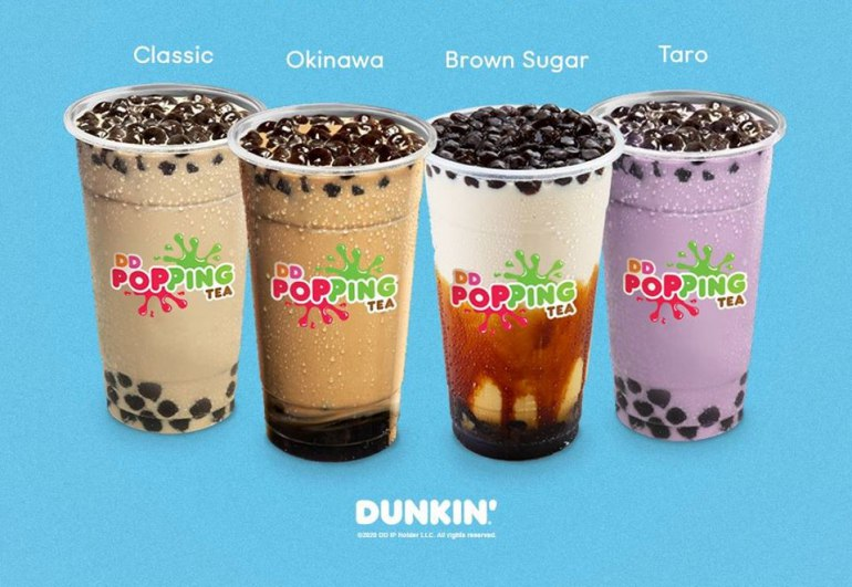 Dunkin' Donuts' Iced Coffee With Tapioca Pearls is the Perfect Pick-Me-Up Treat! | Booky