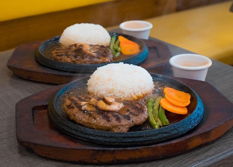 Burger Steak from Sizzlin' Steak
