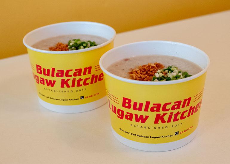 Lugaw from Bulacan Lugaw Kitchen