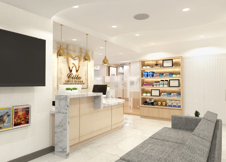 Cillo Smile Design's Dental Clinic Interior