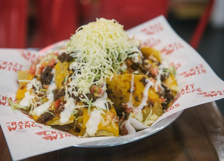 nachos, crazy wings, maginhawa restaurants, maginhawa street, fried chicken, wings