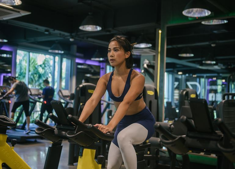 working-out-on-bike