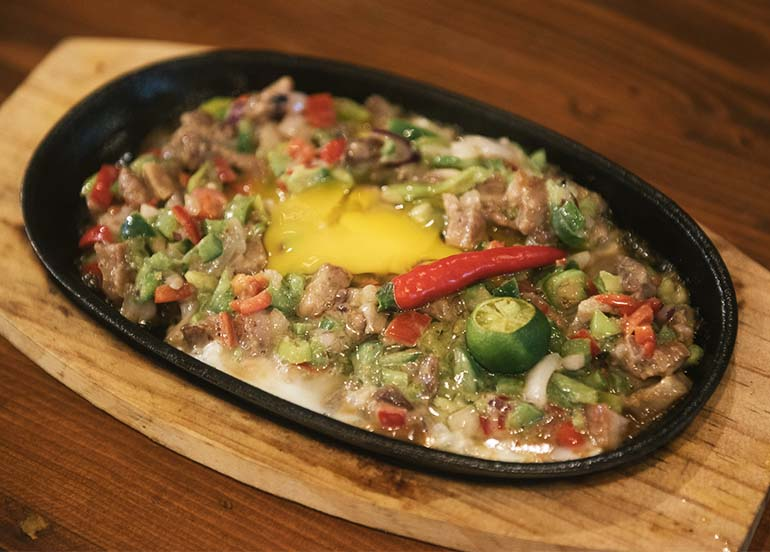 Pork Sisig from Paluto