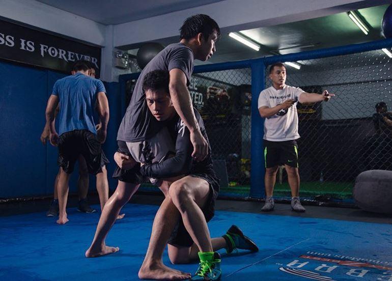 wrestling-training-shoot