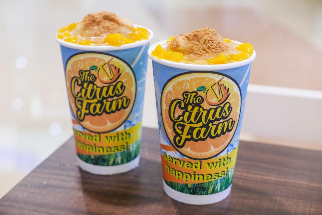 Mango Graham Shake Overload from The Citrus Farm