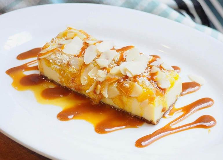 Mango Almond Cheesecake from Sobremesa
