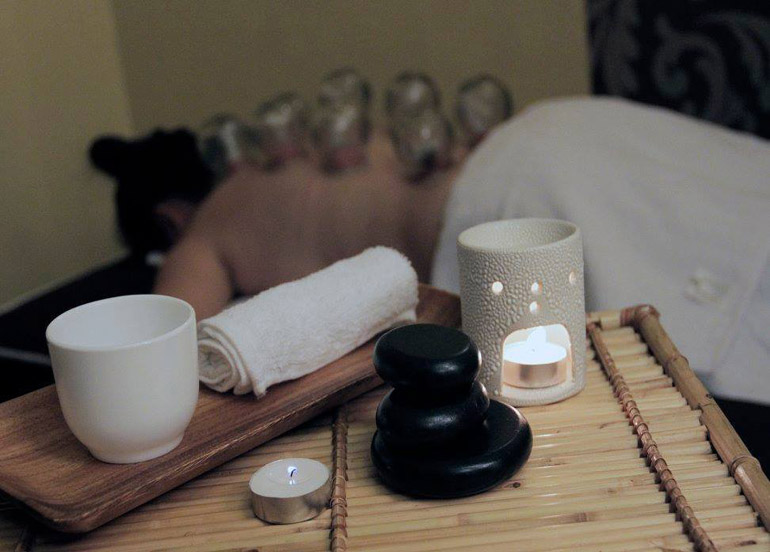Sensefinity Hot Stone Massage