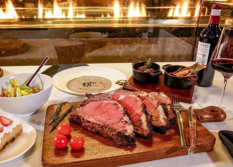 cru steakhouse steaks