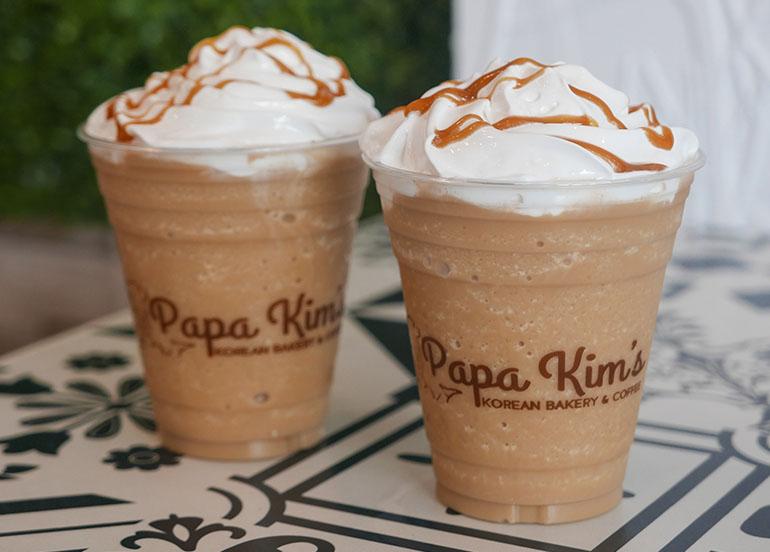 Salted Caramel Frappe from Papa Kim's Korean Bakery & Cafe