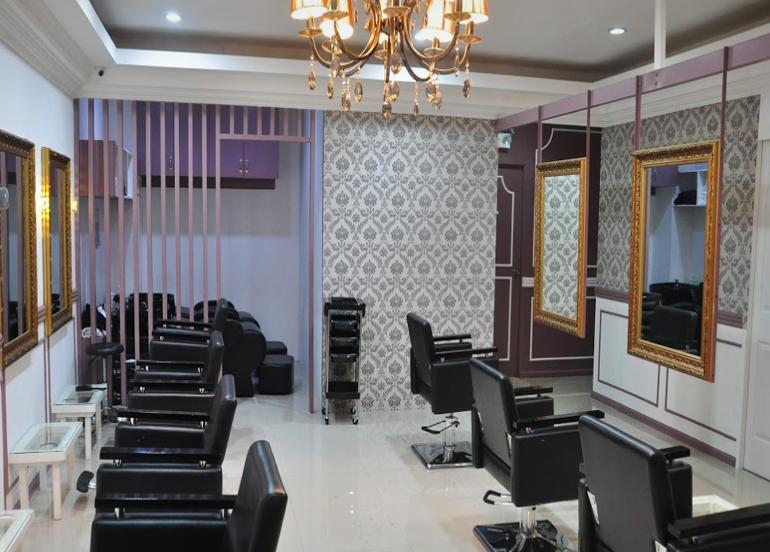 Interior of Bianca Festejo's Beauty Lounge