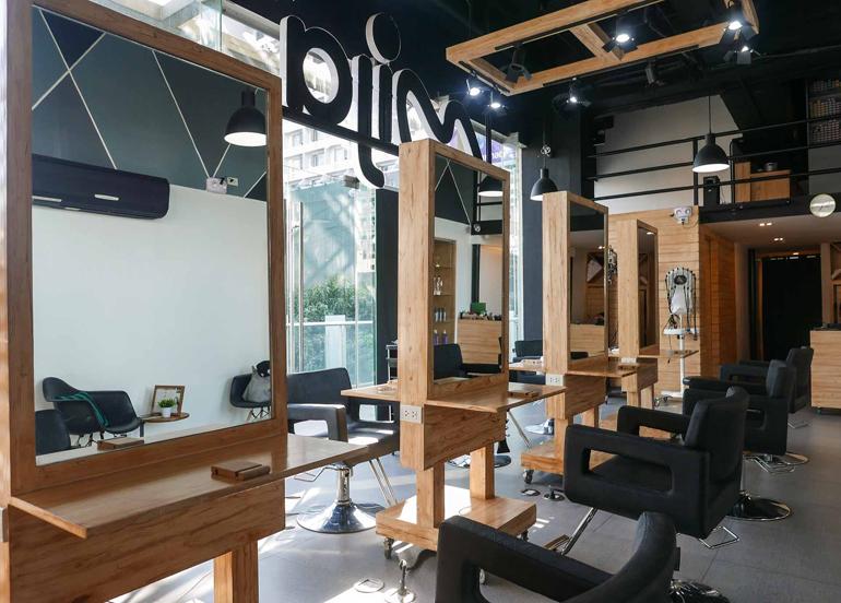 Interior of Mija Korean Salon
