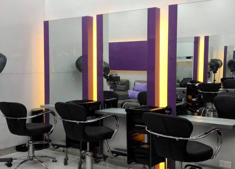 Freshaire's Salon Interior