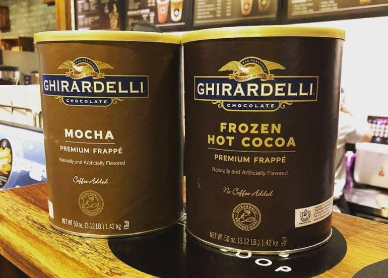 black scoop, chocolate, hot cocoa, ice cream, milk tea