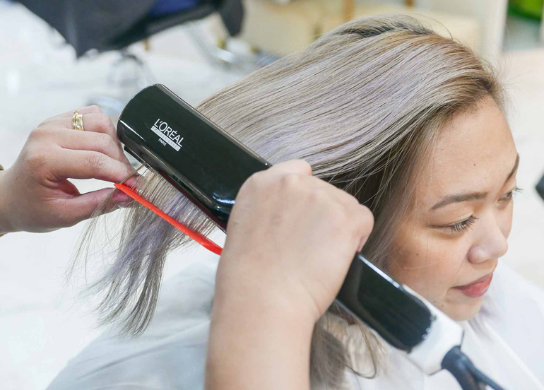 Brazilian Blowout treatment from /nook/