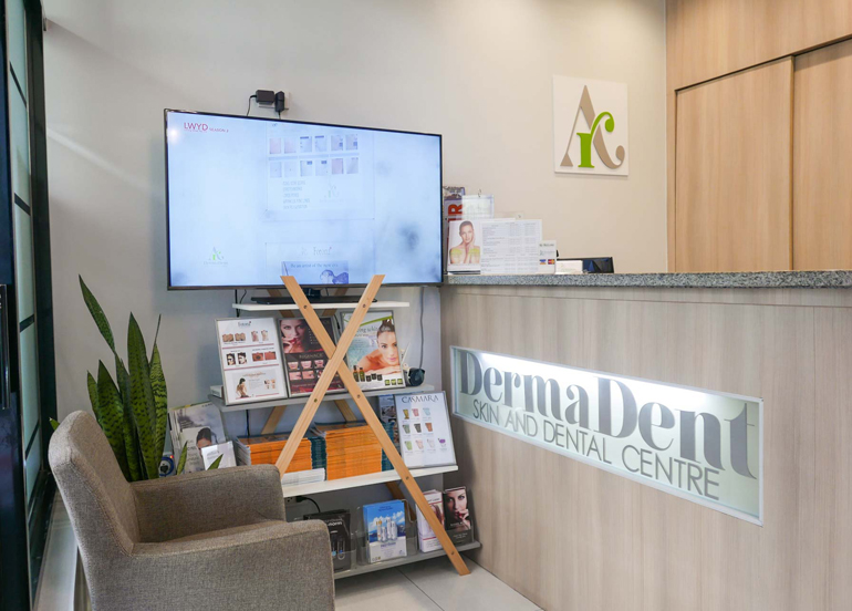DermaDent Interior and Reception Area