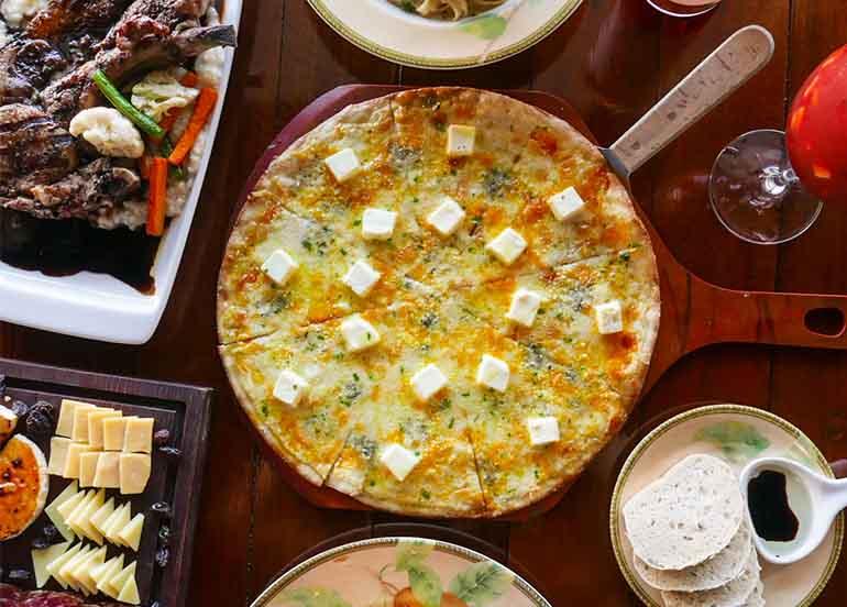 Pizza, Cheese Platter from Fino Deli