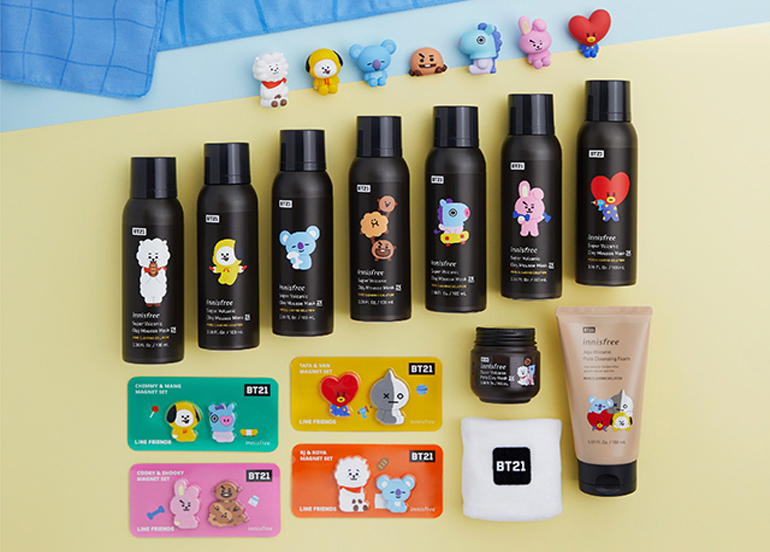 Here's the BT21 x Innisfree Collab You've Been Waiting For