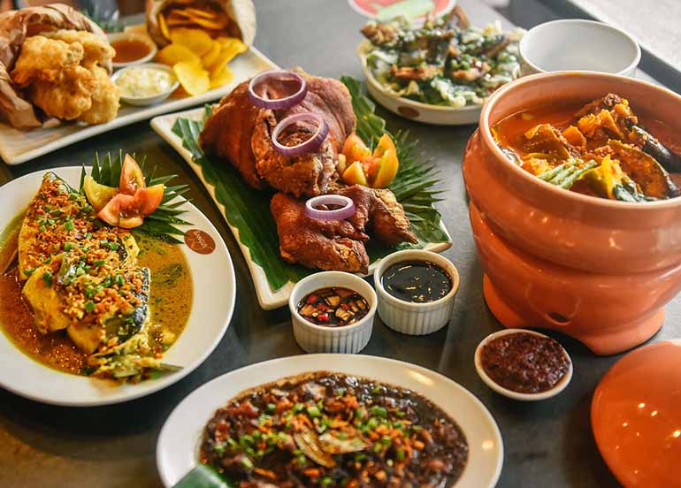 Crispy Pata, Isda, Kare Kare from Bangus Specialty Restaurant