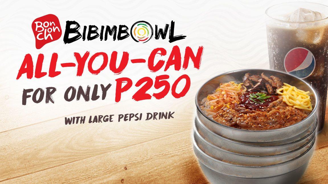 Take on the Bibimbap Challenge with Bonchon's Bibimbowl All-You-Can!