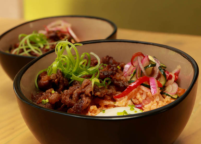 Beef Bowl from Sunnies Cafe