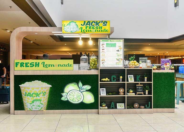 Jack's Lemonade Kiosk