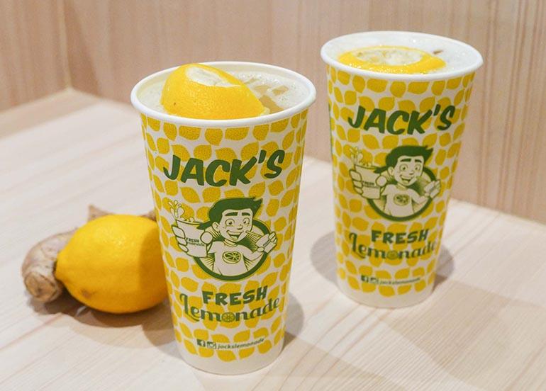 Ginger Lemonade from Jack's Lemonade