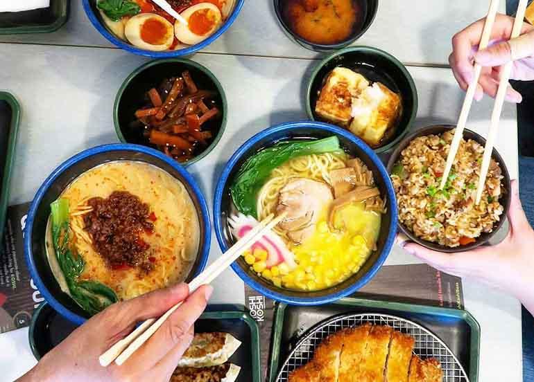 Ramen, Rice, Soba, Tempura from Moshi Koshi Noodle Boss