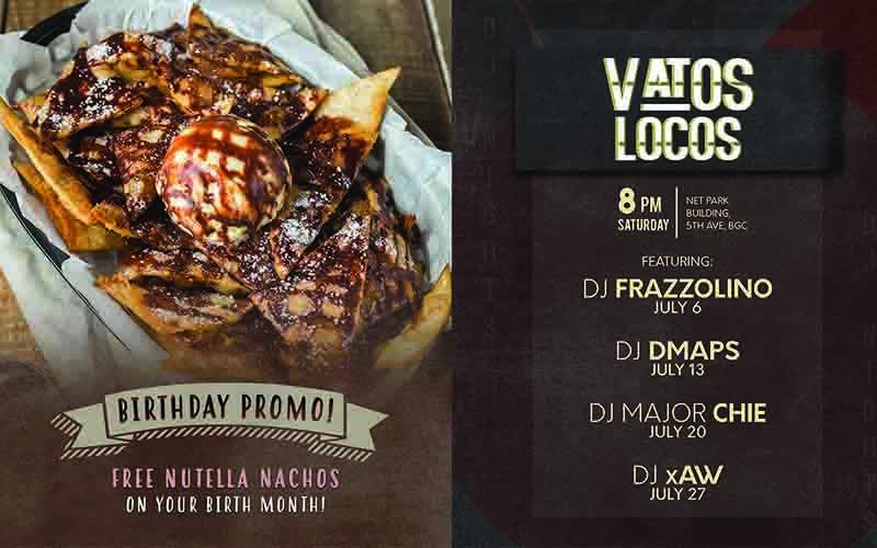 Vatos Urban Tacos Promo